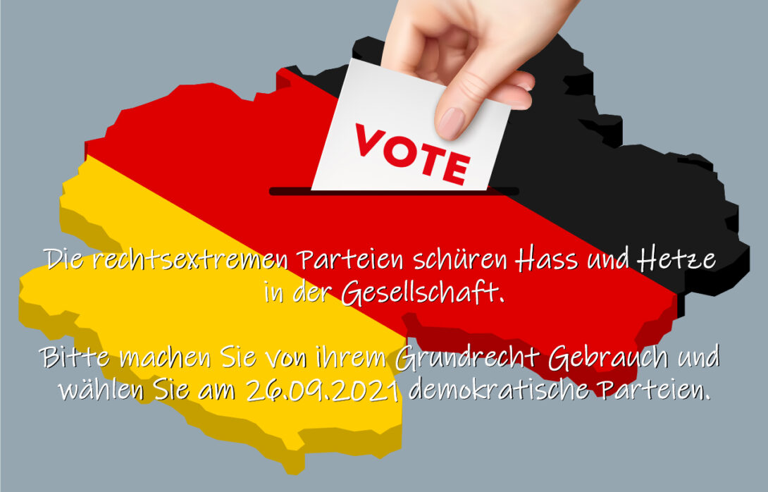 Aufruf von MIGRANET-MV zu Bundes- und Landtagswahlen
