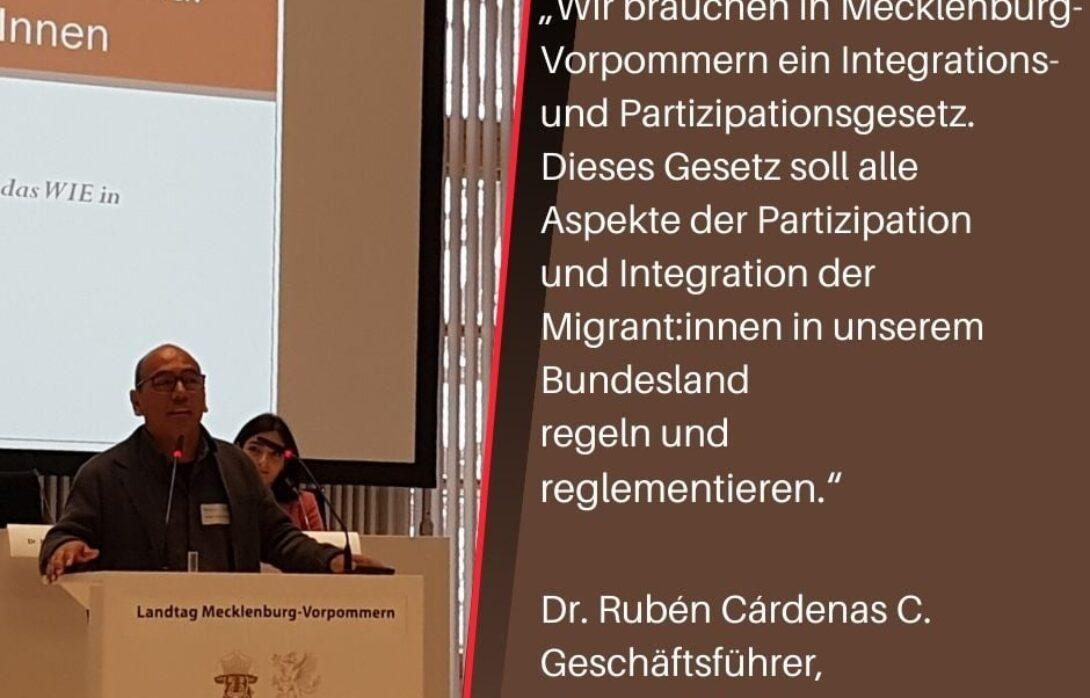Mecklenburg-Vorpommern braucht ein Partizipations- und Integrationsgesetz
